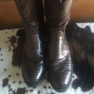 Shoes - Justin boots size 8d